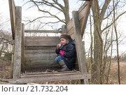 Купить «Berlin, Germany, Botanic Volkspark Blankenfelde-Pankow», фото № 21732204, снято 6 апреля 2015 г. (c) Caro Photoagency / Фотобанк Лори