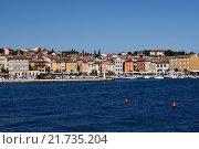 Купить «Rovinj, Croatia, overlooking the port of Rovinj», фото № 21735204, снято 24 июля 2015 г. (c) Caro Photoagency / Фотобанк Лори