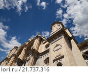 Купить «Кафедральный Собор Воплощения, Гранада, Испания», фото № 21737316, снято 26 августа 2014 г. (c) Владимир Журавлев / Фотобанк Лори