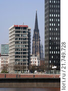 Hamburg, churches and Spiegel-Verlag (2005 год). Редакционное фото, агентство Caro Photoagency / Фотобанк Лори