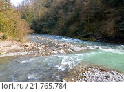 Сочи, слияние рек Агва и Сочи (2014 год). Редакционное фото, фотограф Анна Мартынова / Фотобанк Лори