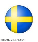Купить «Шведский флаг», иллюстрация № 21775504 (c) Александр Макаров / Фотобанк Лори