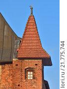 Купить «Башня Кафедрального собора в Калининграде, готика 14-го века. Символ города. Россия», фото № 21775744, снято 9 июня 2013 г. (c) Сергей Трофименко / Фотобанк Лори