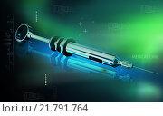 Купить «Syringe», иллюстрация № 21791764 (c) PantherMedia / Фотобанк Лори