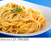 Купить «Pasta Collection - Spaghetti carbonara,Pasta Collection - Spaghetti carbonara,Pasta Collection - Spaghetti carbonara,Pasta Collection - Spaghetti carbonara», фото № 21794600, снято 23 марта 2019 г. (c) PantherMedia / Фотобанк Лори