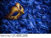 Купить «Venetian carnival mask», фото № 21800268, снято 22 июля 2019 г. (c) PantherMedia / Фотобанк Лори