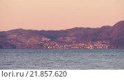 Купить «Фьорд в Норвегии зимой», видеоролик № 21857620, снято 27 марта 2019 г. (c) Павел Котельников / Фотобанк Лори