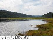 Залив Ангары около п. Мельничная Падь, Иркутский р-н. Стоковое фото, фотограф Константин Мезенцев / Фотобанк Лори