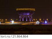 Семейный центр Казан ночью (2016 год). Редакционное фото, фотограф Дмитрий Витушкин / Фотобанк Лори