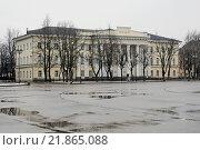Купить «Музей изобразительных искусств, город Великий Новгород, Софийская площадь, дом 2», эксклюзивное фото № 21865088, снято 8 марта 2015 г. (c) stargal / Фотобанк Лори