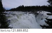Купить «Водопад Tännforsen в Швеции зимой», видеоролик № 21889852, снято 20 августа 2019 г. (c) Павел Котельников / Фотобанк Лори
