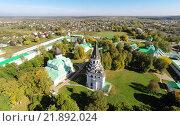 Купить «Александровская слобода. Вид сверху», фото № 21892024, снято 15 сентября 2014 г. (c) Юрий Губин / Фотобанк Лори