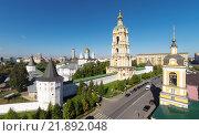 Купить «Новоспасский монастырь», фото № 21892048, снято 16 сентября 2014 г. (c) Юрий Губин / Фотобанк Лори