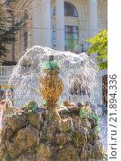 Купить «Фонтан в городе Севастополь», фото № 21894336, снято 3 мая 2010 г. (c) Parmenov Pavel / Фотобанк Лори