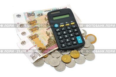 Российские деньги и калькулятор
