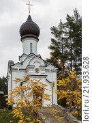 Церковь в городе Белокуриха (2015 год). Стоковое фото, фотограф Владимир Иванов / Фотобанк Лори