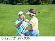 Купить «Golf», фото № 21977936, снято 24 августа 2015 г. (c) Raev Denis / Фотобанк Лори