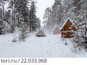 Купить «Горячие источники на Байкале, Горячинск», фото № 22033968, снято 4 января 2016 г. (c) Геннадий Соловьев / Фотобанк Лори