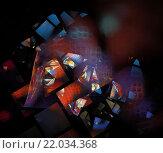 Абстрактный фон. Стоковая иллюстрация, иллюстратор Елена Уткина / Фотобанк Лори