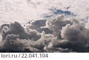 Купить «Облака», эксклюзивное фото № 22041104, снято 13 июня 2015 г. (c) Александр Циликин / Фотобанк Лори
