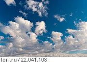 Облака на небе, эксклюзивное фото № 22041108, снято 30 июня 2015 г. (c) Александр Циликин / Фотобанк Лори