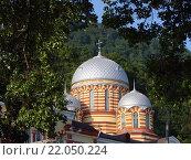 Купить «Монастырь Новый Афон», фото № 22050224, снято 2 сентября 2007 г. (c) Александр Карпенко / Фотобанк Лори