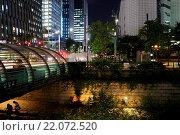 Ночной Сеул (2015 год). Редакционное фото, фотограф Олеся Рукина / Фотобанк Лори