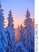 Купить «mountain winter landscape», фото № 22090916, снято 19 января 2020 г. (c) easy Fotostock / Фотобанк Лори