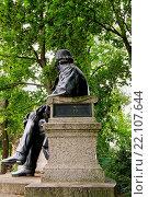 Купить «Fontane-Denkmal in Neuruppin, Brandenburg; memorial of Theodor Fontane», фото № 22107644, снято 20 октября 2019 г. (c) age Fotostock / Фотобанк Лори