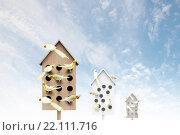Apartments for friendly living. Стоковое фото, фотограф Sergey Nivens / Фотобанк Лори