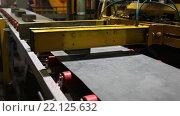 Завод по производству строительных материалов. Стоковое видео, видеограф Дмитрий Рухмалев / Фотобанк Лори
