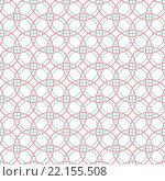 Купить «Seamless Abstract Intersecting and Repeating Modern Colorful Circles», иллюстрация № 22155508 (c) PantherMedia / Фотобанк Лори
