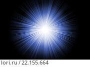 Купить «Blue abstract flash, illustration», иллюстрация № 22155664 (c) PantherMedia / Фотобанк Лори