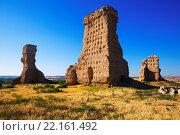 Купить «abandoned castle of Palenzuela», фото № 22161492, снято 6 июня 2020 г. (c) Яков Филимонов / Фотобанк Лори