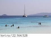 Купить «Таиланд. Симиланские острова. Пляж», фото № 22164528, снято 20 февраля 2016 г. (c) Алексей Сварцов / Фотобанк Лори