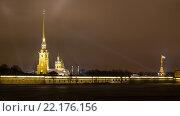 Петропавловская крепость. Стоковое фото, фотограф Андрей Дубаков / Фотобанк Лори