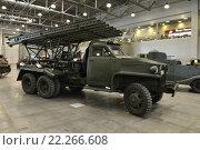 Купить «Международная выставка исторической военной техники «Моторы войны»», эксклюзивное фото № 22266608, снято 18 марта 2016 г. (c) Алексей Бок / Фотобанк Лори
