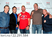 Купить «The Resurrection of Jake the Snake Screening and Q&A Featuring: Steve Yu, Stone Cold Steve Austin, Jake Roberts, Jake the Snake, Christopher Bell Where...», фото № 22291584, снято 14 октября 2015 г. (c) age Fotostock / Фотобанк Лори