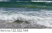 Купить «Sea Surf Waves», видеоролик № 22322164, снято 29 февраля 2016 г. (c) Юрий Брыкайло / Фотобанк Лори