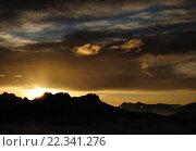 Тьма гор. Стоковое фото, фотограф Кузякин Иван / Фотобанк Лори