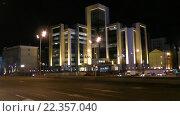 Купить «Москва, Сретенский бульвар ночью», эксклюзивный видеоролик № 22357040, снято 26 марта 2016 г. (c) Alexei Tavix / Фотобанк Лори