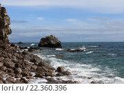 Морской пейзаж. Стоковое фото, фотограф Коновалова Марина / Фотобанк Лори