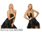 Купить «Composite photo of woman in various poses», фото № 22365868, снято 8 сентября 2014 г. (c) Elnur / Фотобанк Лори