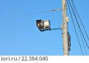 Купить «Система фиксации нарушений ПДД», фото № 22384040, снято 26 марта 2016 г. (c) Всеволод Карулин / Фотобанк Лори