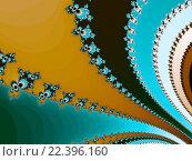 Купить «Абстрактный фрактальный фон», иллюстрация № 22396160 (c) Astronira / Фотобанк Лори