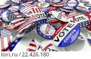Купить «Voting pins dropping on the floor», видеоролик № 22426180, снято 23 июля 2019 г. (c) Wavebreak Media / Фотобанк Лори