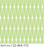 Купить «Бесшовный фон. Белая сетка на зеленом фоне», иллюстрация № 22464172 (c) Татьяна Гришина / Фотобанк Лори
