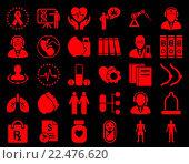 Купить «Medical Icon Set», фото № 22476620, снято 19 сентября 2018 г. (c) easy Fotostock / Фотобанк Лори