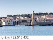 Купить «Маяк (остров Крит, Греция, город Ретимно)», фото № 22513432, снято 19 ноября 2015 г. (c) Татьяна Ляпи / Фотобанк Лори