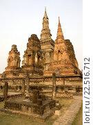 Купить «Ancient temple Sukhothai Thailand.», фото № 22516712, снято 9 февраля 2007 г. (c) age Fotostock / Фотобанк Лори